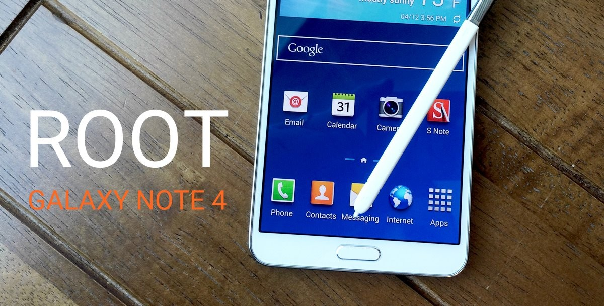 Galaxy Note 4 Root Yapma