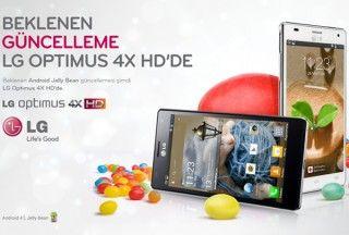 LG Optimus 4X HD P880 Güncellemesi