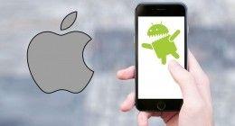 Android telefonlar, iPhone'a ayrım attı!